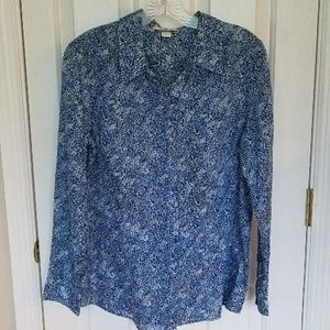 Coldwater Creek Blouse - No Iron